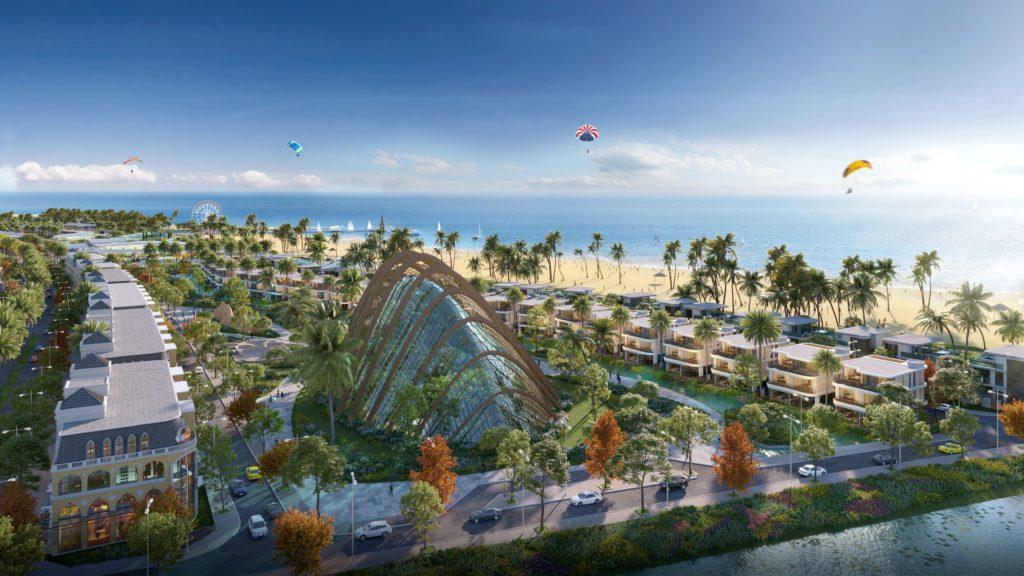 Khu vực Spa Garden đẳng cấp dự án Venezia Beach