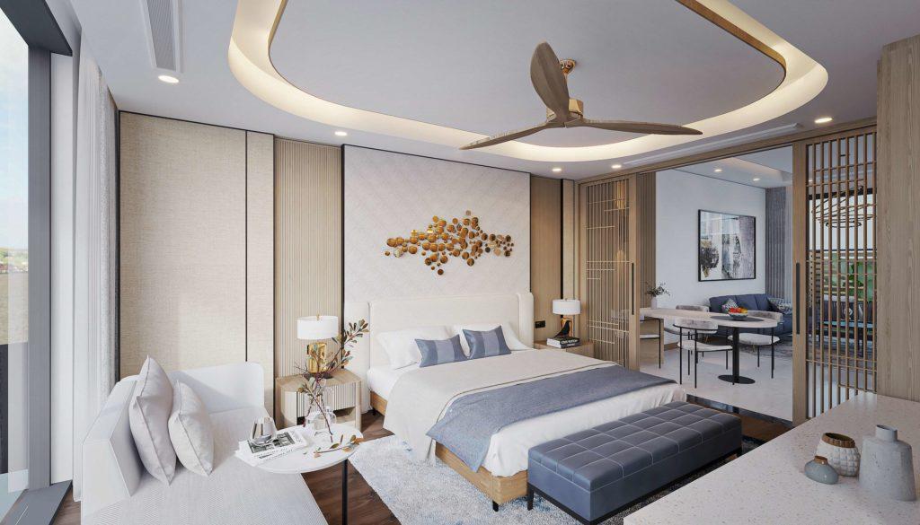 Nội thất bàn giao căn Multi-key Garden House dự án Venezia Beach Hồ Tràm Bình Châu