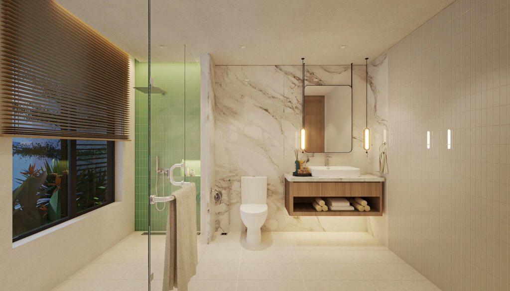 Nội thất bàn giao căn Multi-key Garden House dự án Venezia Beach theo tiêu chuẩn Best Western