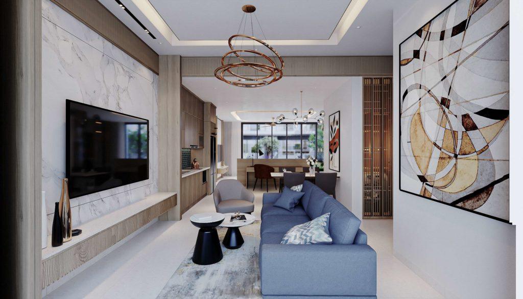 Nội thất bàn giao căn Multi-key Garden House dự án sinh thái Venezia Beach Hồ Tràm theo tiêu chuẩn Best Western
