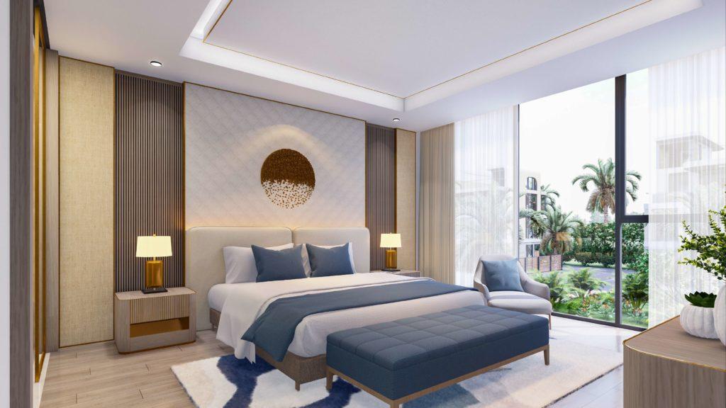 Nội thất bàn giao đẳng cấp Nhà vườn Garden House dự án Venezia Beach Hồ Tràm Bình Châu theo tiêu chuẩn quốc tế