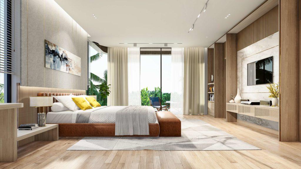 Nội thất bàn giao siêu biệt thự biển đẳng cấp dự án Venezia Beach Hồ Tràm Bình Châu theo tiêu chuẩn BW