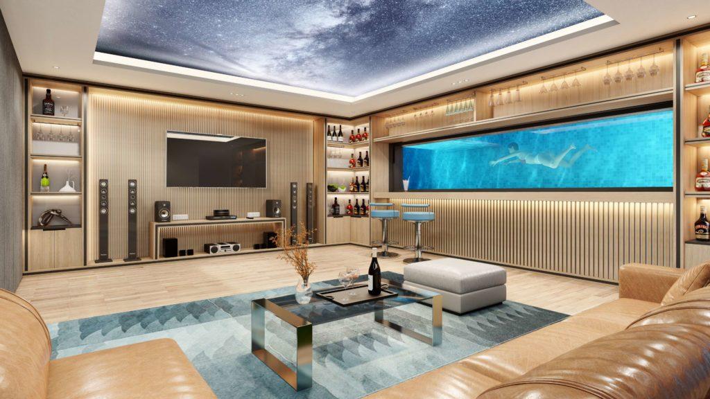 Nội thất bàn giao siêu biệt thự biển đẳng cấp dự án Venezia Beach Village Bình Châu