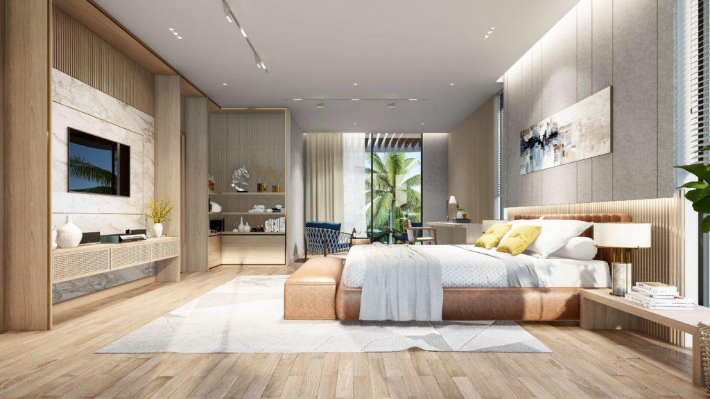 Nội thất bàn giao siêu biệt thự biển đẳng cấp dự án Venezia Beach theo tiêu chuẩn Best Western