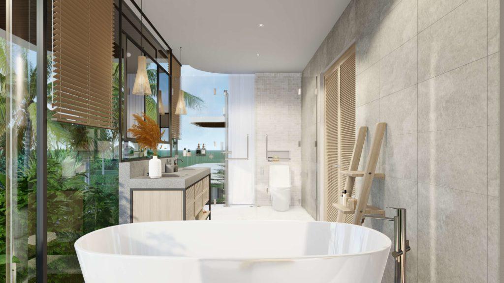 Nội thất bàn giao siêu biệt thự biển đẳng cấp thuộc dự án Venezia Beach Hồ Tràm Bình Châu theo tiêu chuẩn 5 sao