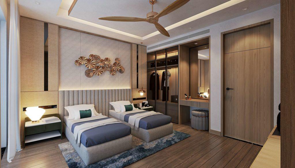 Nội thất bàn giao theo tiêu chuẩn Best Western căn Multi-key Garden House dự án Venezia Beach Hồ Tràm