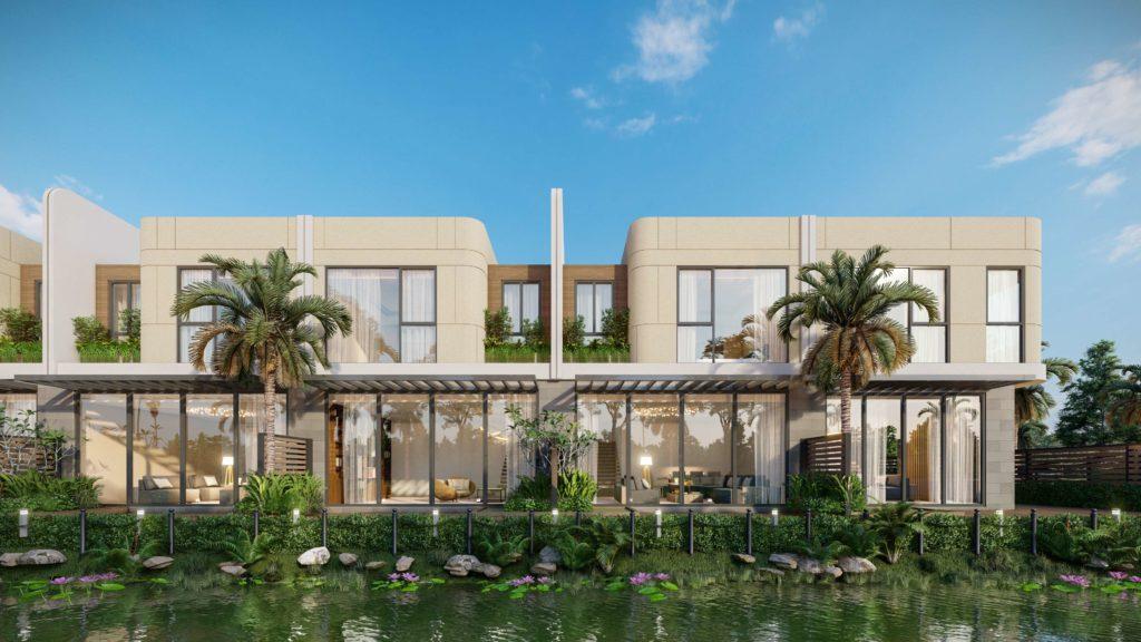 Phối cảnh nhà vườn dự án Venezia Beach Hồ Tràm Bình Châu