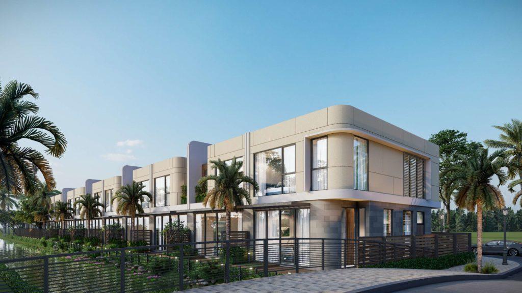 Phối cảnh nhà vườn thuộc dự án Venezia Beach Hồ Tràm Bình Châu