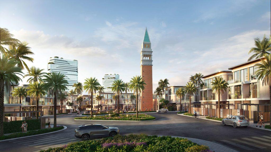 Tháp biểu tượng Venezia Beach