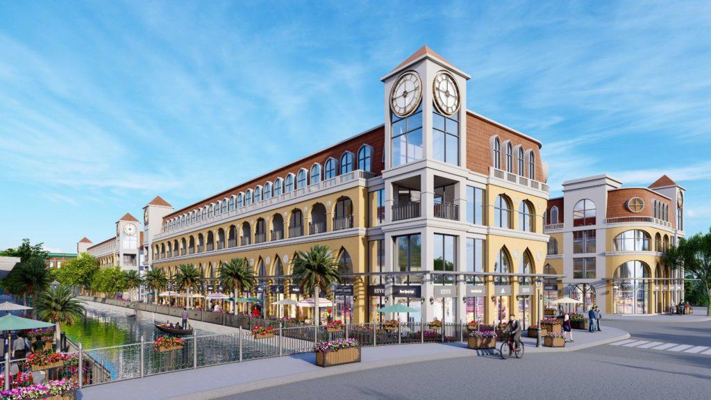 Thiết kế chi tiết sản phẩm Boutique House và Shophouse dự án Venezia Beach
