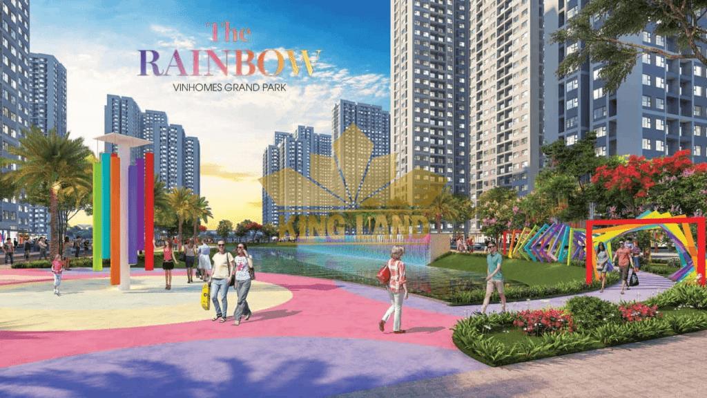 Phân khu The Rainbow thuộc Vinhomes Grand Park