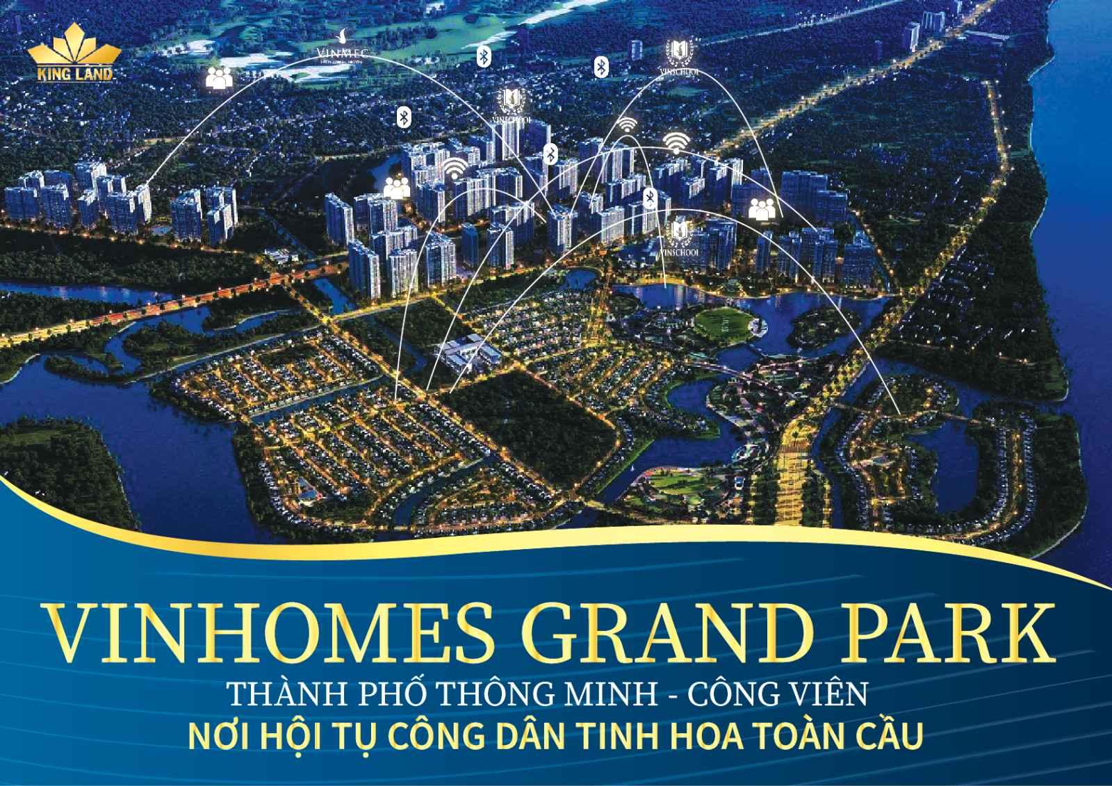 Thành phố thông minh Vinhomes Grand Park.