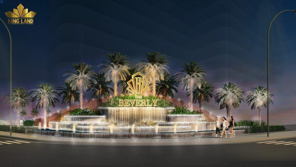 Cổng chào The Beverly - Khởi đầu của sự thịnh vượng phồn hoa