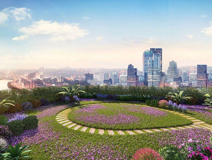 Dự kiến Sky Garden của The Beverly mô phỏng từ dự án cùng CĐT