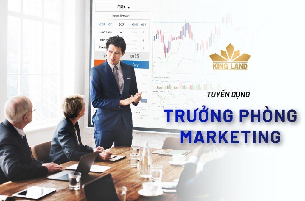 King Land tuyển dụng Trưởng phòng Marketing