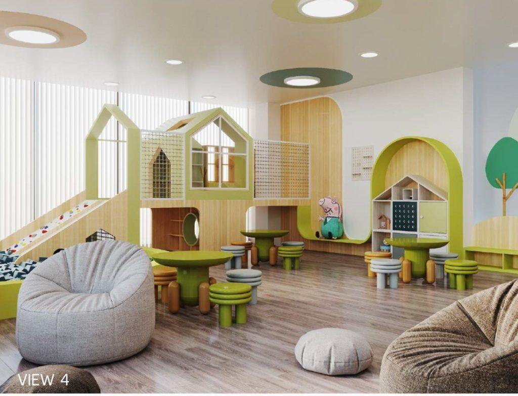 Phòng chơi trẻ em Kids Zone tại phân khu The Beverly