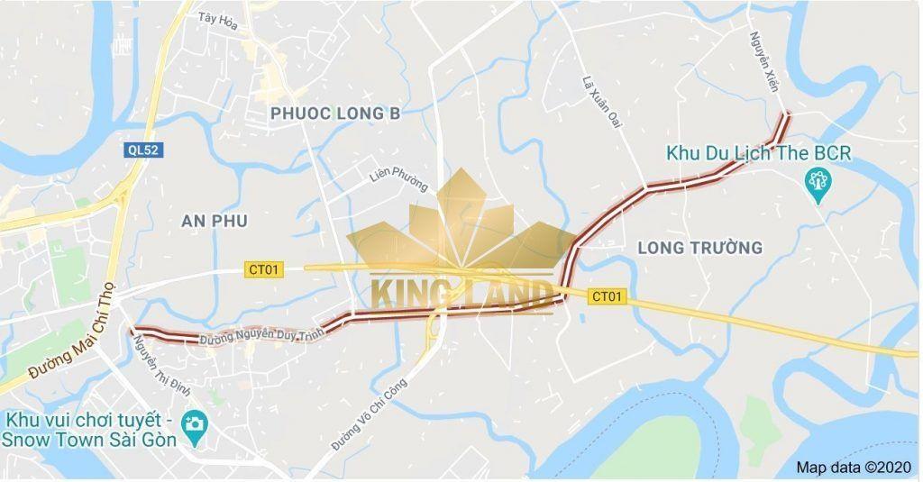 Trục đường Nguyễn Duy Trinh