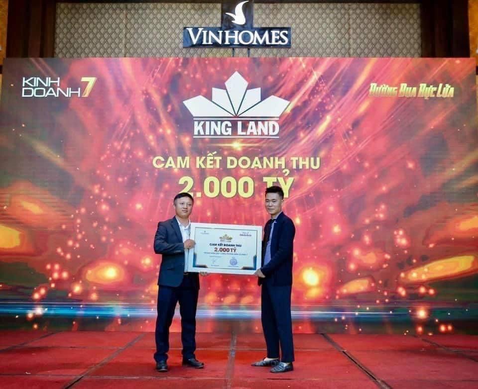 King Land tham gia KD7 Vinhomes
