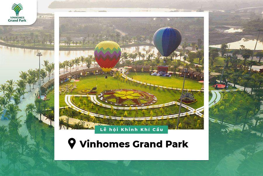 Công viên ánh sáng 36 ha Vinhomes quận 9