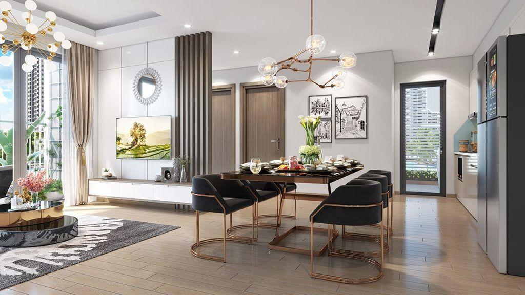 Thiết kế bên trong căn hộ Vinhomes Grand Park