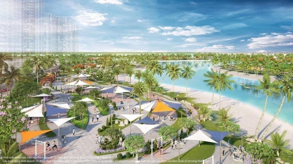 Công viên biển hồ nhân tạo thuộc phân khu The Beverly