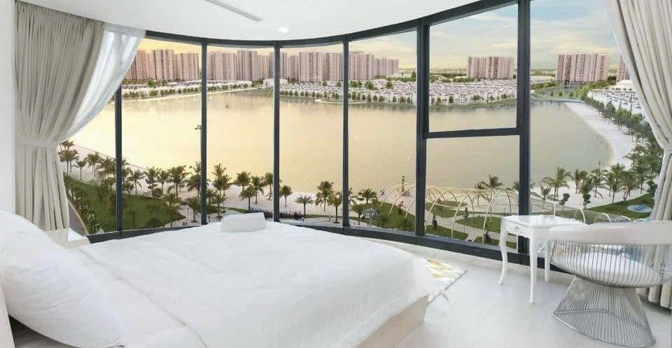 Tầm view bao quát rộng mở căn hộ The Beverly