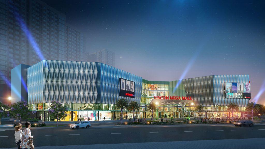 Vincom Mega Mall lớn nhất miền Nam tại Vinhomes Grand Park