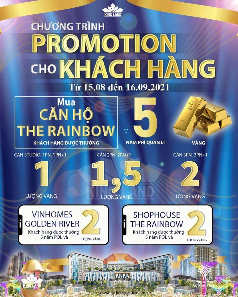 Chương trình Vinhomes Promotion