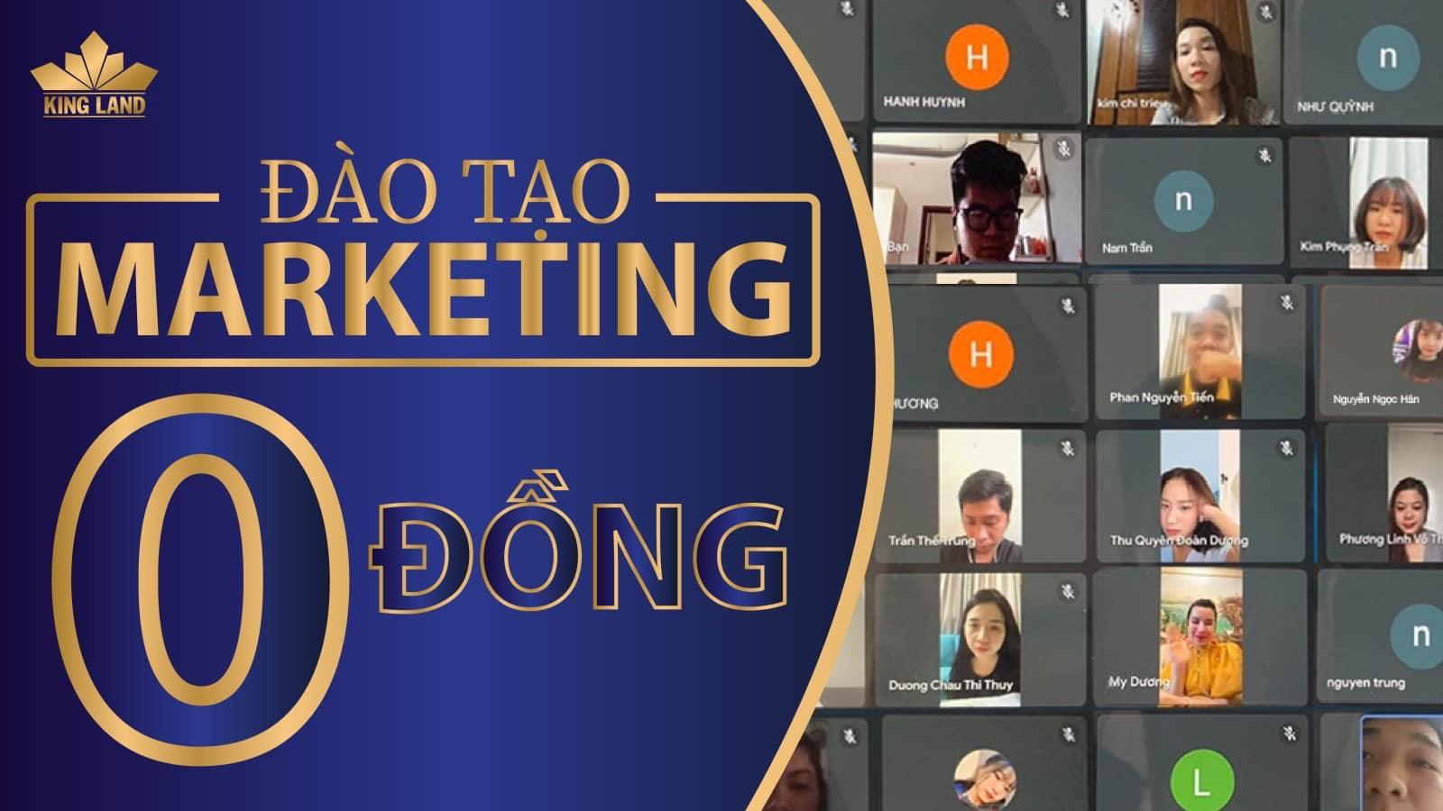 Đào tạo Marketing 0 đồng