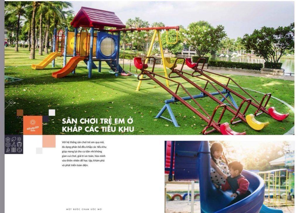 Sân chơi trẻ em liên hoàn Vinhomes Grand Park