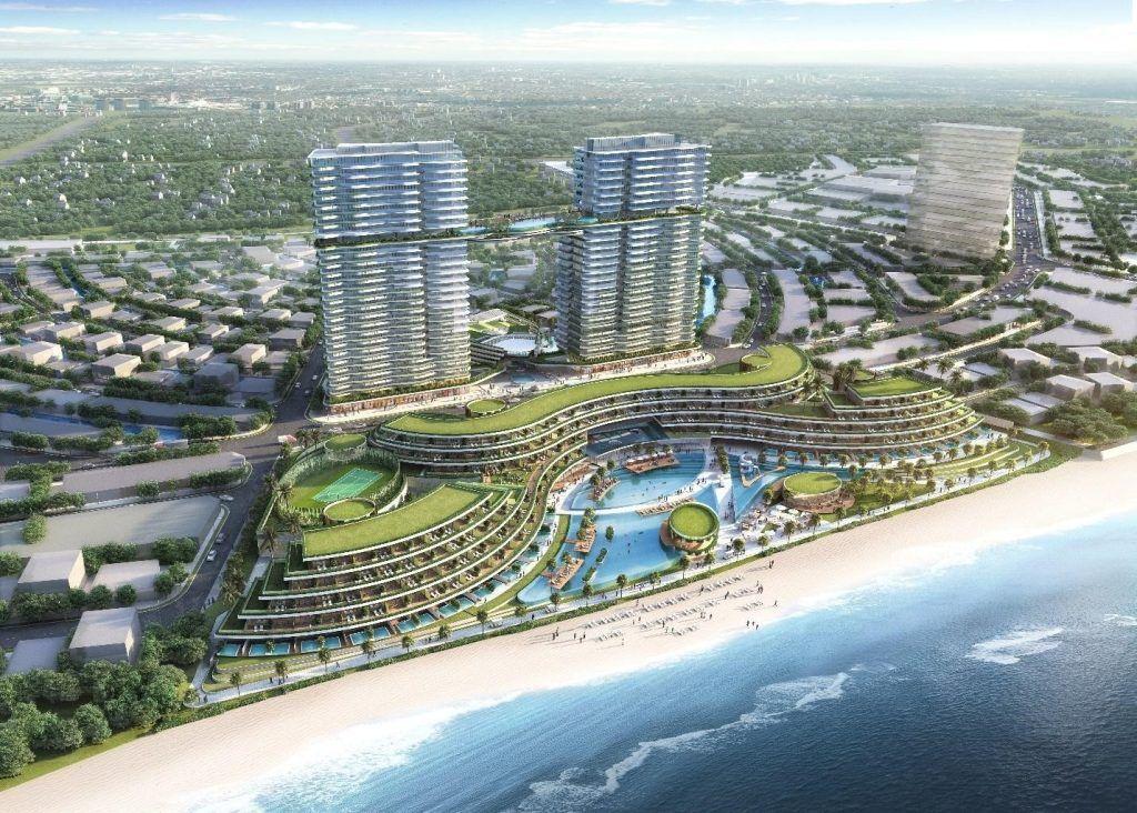 Khách sạn Sheraton trong dự án Venezia Beach trên cung đường resort Hồ Tràm - Bình Châu