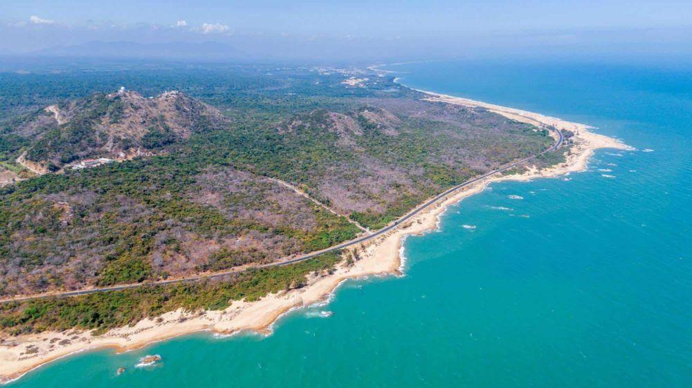 Trục đường nối dài Vũng Tàu - Hồ Tràm - Bình Châu đoạn cung đường resort
