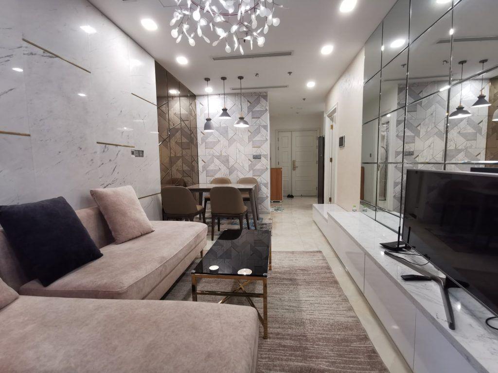 Cho thuê căn hộ Vinhomes Golden River thiết kế hiện đại