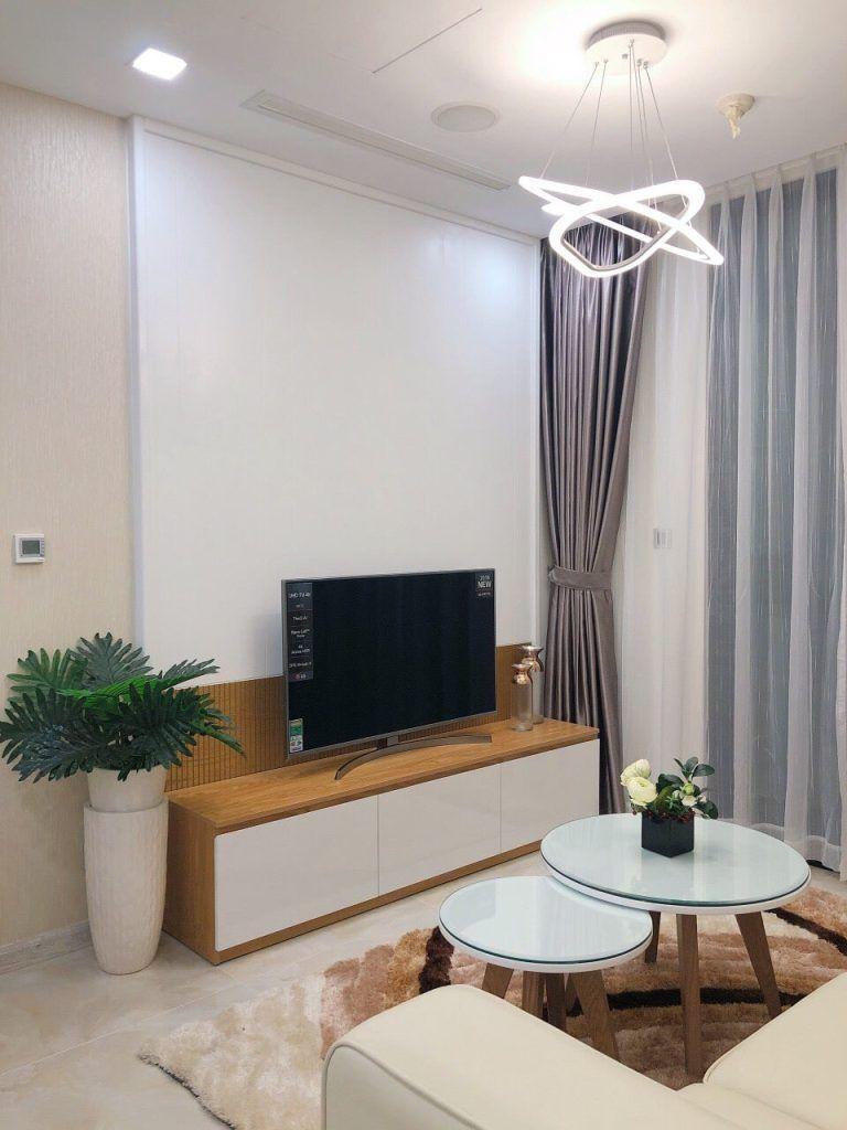 Nội thất kèm trang thiết bị điện tử căn hộ 1PN Vinhomes Golden River