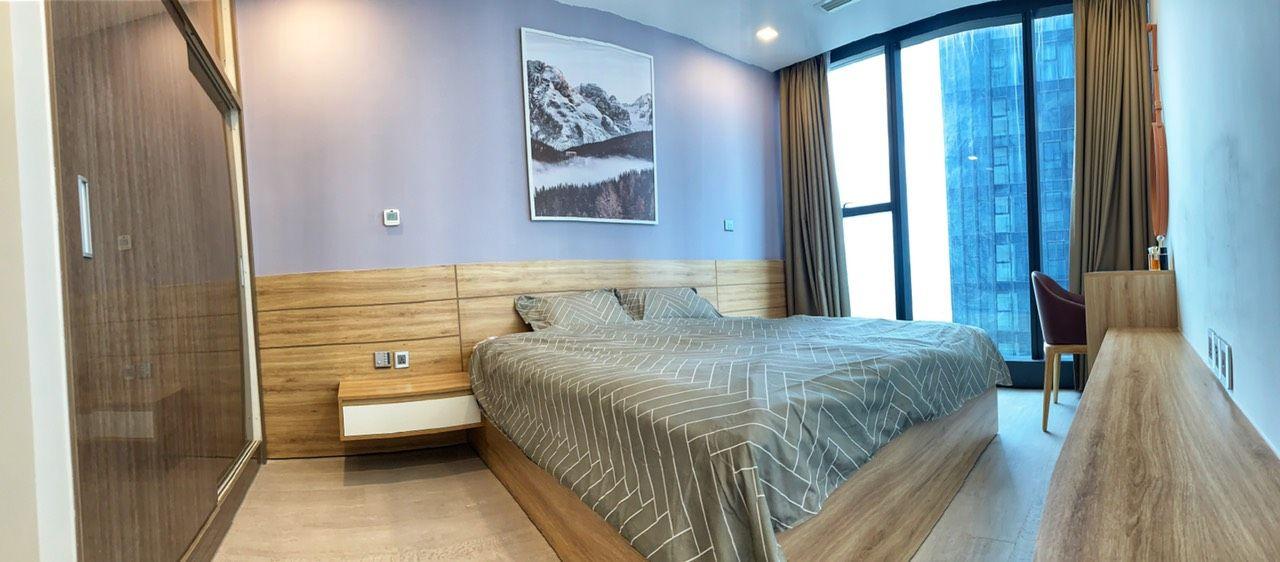 Phòng ngủ rộng rãi view thông thoáng