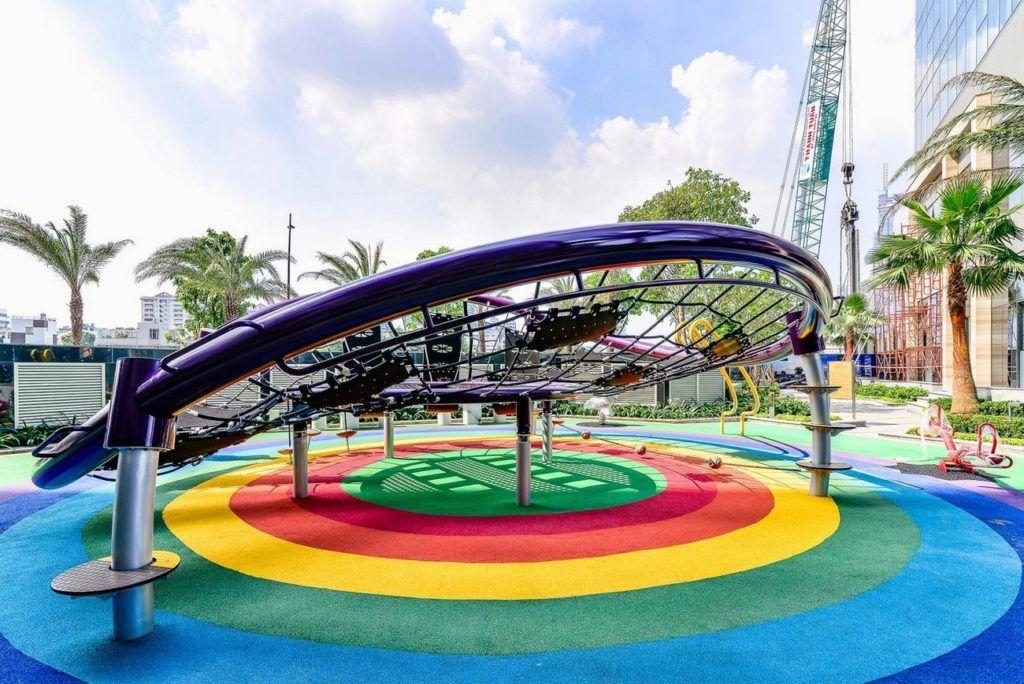 Sân chơi trẻ em liên hoàn Vinhomes Golden River