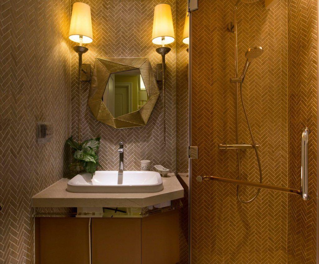 Thiết bị vệ sinh căn hộ 2PN cho thuê Vinhomes Golden River full nội thất sang trọng
