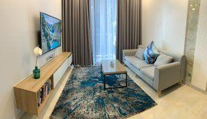 Toàn cảnh căn hộ 1PN Vinhomes Golden River với nội thất hiện đại