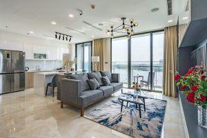 Toàn cảnh căn hộ 2PN Vinhomes Golden River